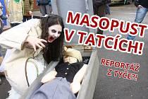 Reportáž z tyče: masopust v Tatcích