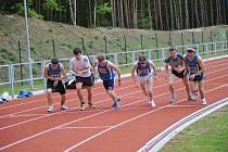 Z 57. ročníku Polabských závodů v atletice.