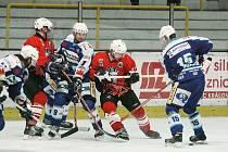 Hokejové utkání Kolín - Jablonec n. Nisou (3:7)