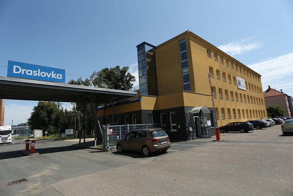 Draslovka v Kolíně.