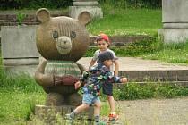 Medvědí louka a její okolí v kolínských Borkách patří k vyhledávaným místům pro procházky a zábavu.