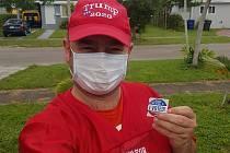 Kolínský rodák Rudolf Horák volí Donalda Trumpa.