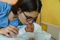 Marek Zmeškal se narodil 6.12.2018, vážil 2970 g a měřil 49 cm. V Poděbradech bude bydlet s maminkou Hanou a tatínkem Miroslavem.