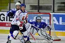 Z utkání II.NHL, Kolín - Řisuty (4:3).