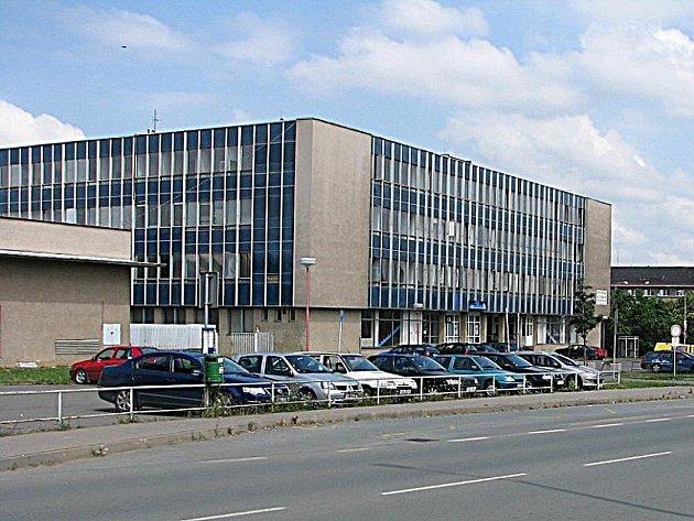 Ubytovna na křižovatce ulic Jaselská a Polepská v Kolíně.