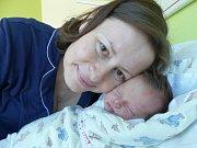 Kristýna Němcová se narodila 12. února 2019, vážila 3300 g a měřila 50 cm. V Hradčanech bude bydlet s bráškou Pavlíkem (9) a rodiči Martou a Petrem.