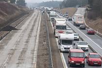 Modernizace dálnice, ilustrační foto