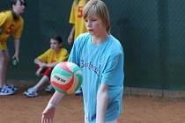 Žáci  soupeří v různých sportech