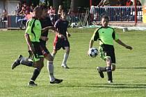 Z utkání Jestřabí Lhota - Zásmuky B (2:0).