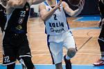 Z 5. kola nadstavby BC Kolín - Hradec Králové (66:82).