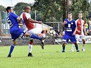Z přípravného utkání Kolín - Slavia Praha U21 (1:2).