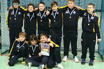 Mladší žáci Kolína obsadili na turnaji v Náchodě druhé místo.