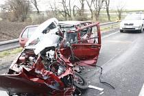 Smrtelná nehoda na kolínském obchvatu