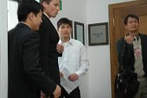 Nguyen Van Huy s advokátem