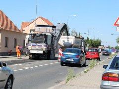 Rekonstrukce Ovčárecké ulice a objízdná trasa