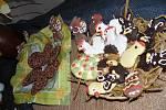 Vernisáži velikonoční výstavy dominovaly ručně zdobené perníčky