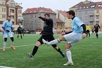 Zimní fotbalová příprava: Vyšehrad B - Český Brod 1:2 (0:0).