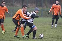 Z přátelského utkání FK Kolín - Červené Pečky (4:0).