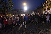 Pietní akt svobody v Kolíně