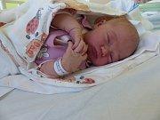 Sofie Vernerová se narodila 24. února 2019, vážila 4050 g a měřila 52 cm. V Radovesnicích I ji přivítala sestřička Vaneska (2) a rodiče Veronika a Petr.
