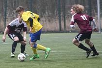 Z utkání FK Kolín U17 - Benešov (2:1).