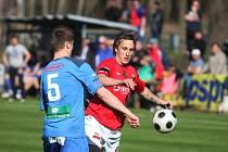 Z utkání FK Kolín - Velim (3:0).