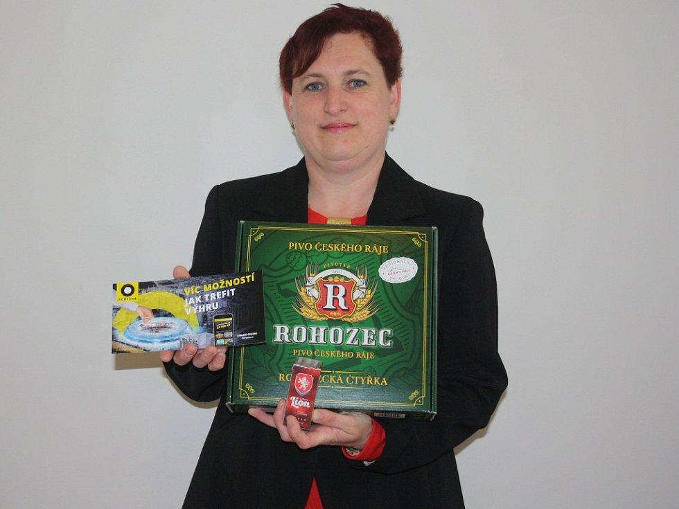 Vítězkou 5. kola Fortuna Tip ligy se stala Hana Šimůnková, která získala poukázku od Fortuny v hodnotě 100,-Kč, dále upomínkový předmět od FAČR a karton piv značky Rohozec.