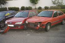 Poškozená vozidla