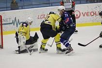 Z hokejového utkání Chance ligy Kolín - Ústí nad Labem