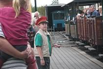 Parní vlak přepadávali kovbojové.
