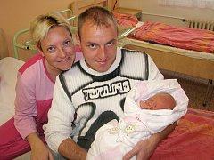 Kristýna Svobodová se poprvé podívala na maminku Marii a tatínka Josefa 11. listopadu 2013. Její první míry byly 49 centimetrů a 3280 gramů. Rodiče si ji odvezli do Ovčár, kde se na ni těšila osmiletá Karolínka.