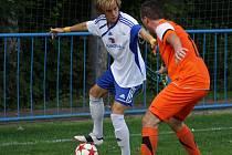 Z utkání Český Brod - Motorlet Praha (0:1).