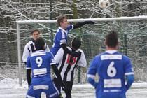 Z přípravného utkání FK Kolín - Úvaly (2:0).