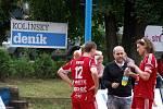 Z mistrovství republiky dvojic. To se uskutečnilo v Českém Brodě.
