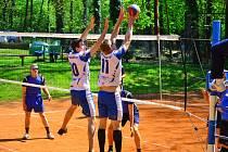 Z utkání VK Kolín B - Mnichovo Hradiště B (3:1).