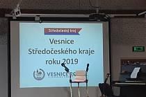 Vyhlášení výsledků krajského kola soutěže Vesnice roku 2019.