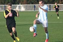 Z utkání Býchory - Tuchoraz (0:3).