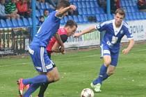 Z utkání FK Kolín - Dobrovice (2:2, PK 0:3).