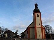 Finální verze zrekonstruovaného kostela.