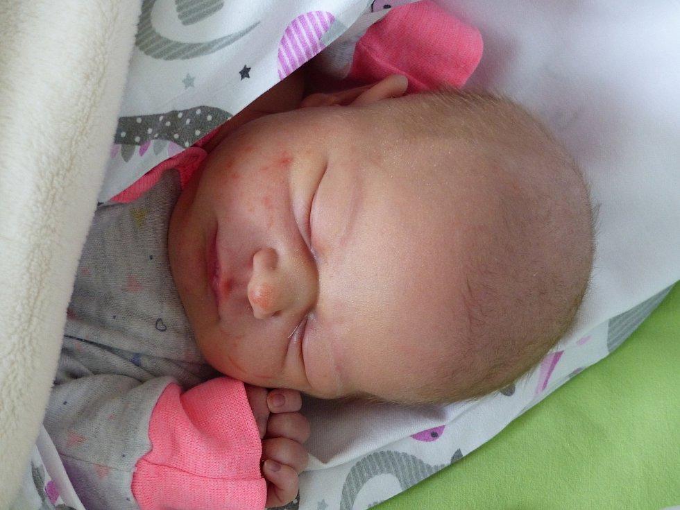 Sofie Růžičková se narodila 2. prosince 2020 v kolínské porodnici, vážila 3580 g a měřila 50 cm. Do Červených Peček odjela se sestřičkou Rozálií (2) a rodiči Kateřinou a Pavlem.