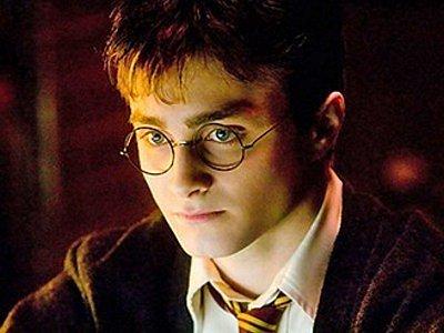 Čarodějnický učeň Harry Potter.