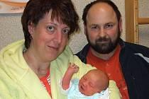 Anežka Kratochvílová se narodila 18. ledna 2010 v Čáslavi. Vážila 3350 gramů a měřila 49 centimetrů. Doma ve Veltrubech ji přivítá maminka Olga a tatínek Pavel.