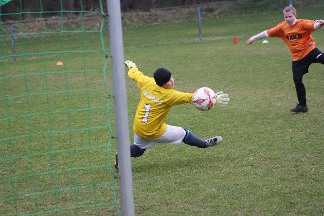 Z utkání FK Kolín U12 - Letohrad (3:2).