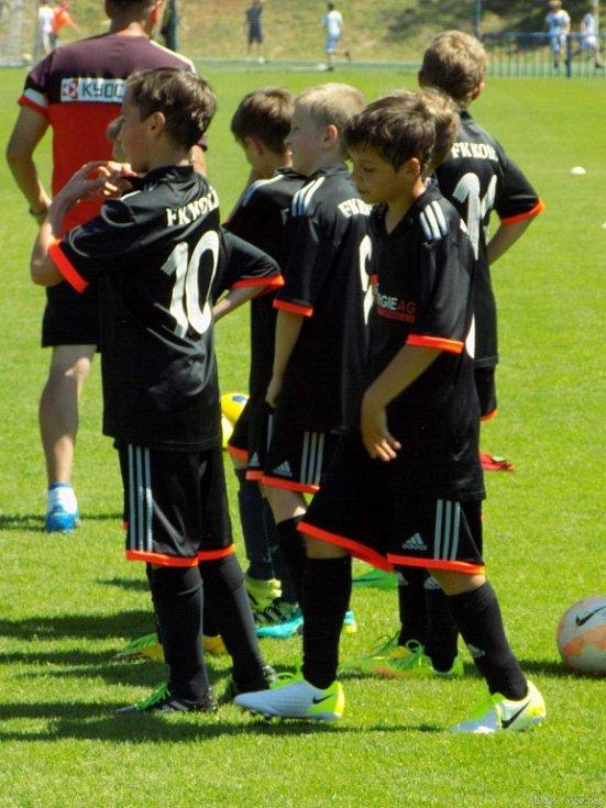 Juan Carlos vedl tréninkovou jednotku v Kolíně.