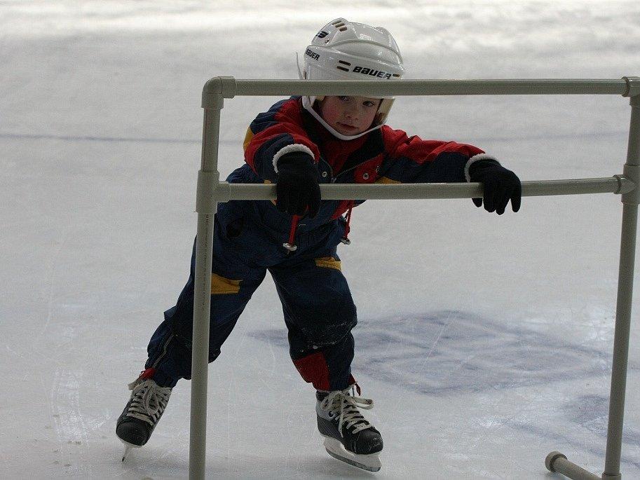 V sobotu odpoledne patřila ledová plocha v Kolíně malým hokejovým nadějím