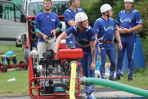 Sbor dobrovolných hasičů Zibohlavy pořádal soutěž.