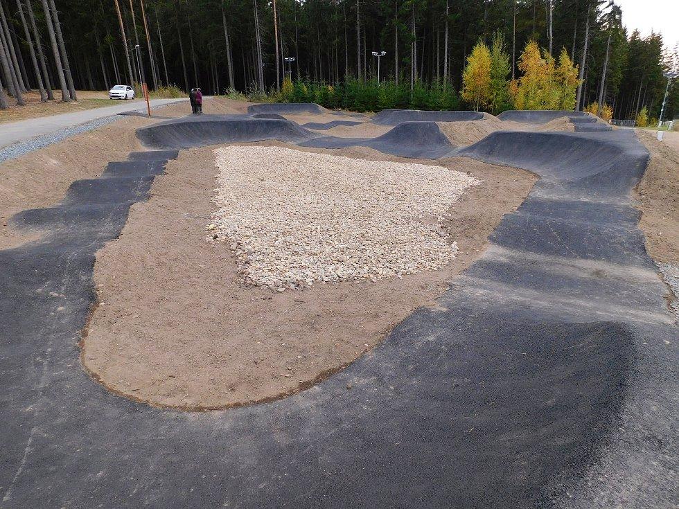 Pumptracková dráha ve Vysočina Areně. Ilustrační foto.