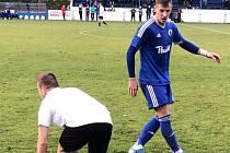 Z utkání Český Brod - Chomutov (2:1).