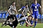 "Dohrávka 18. kola divizní skupiny ""C"" FK Kolín - Admira Praha (1:1, PK 6:5)."