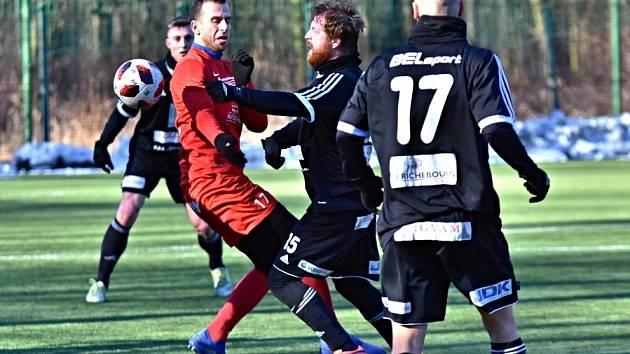 Z přípravného utkání FK Kolín - Převýšov (2:0).